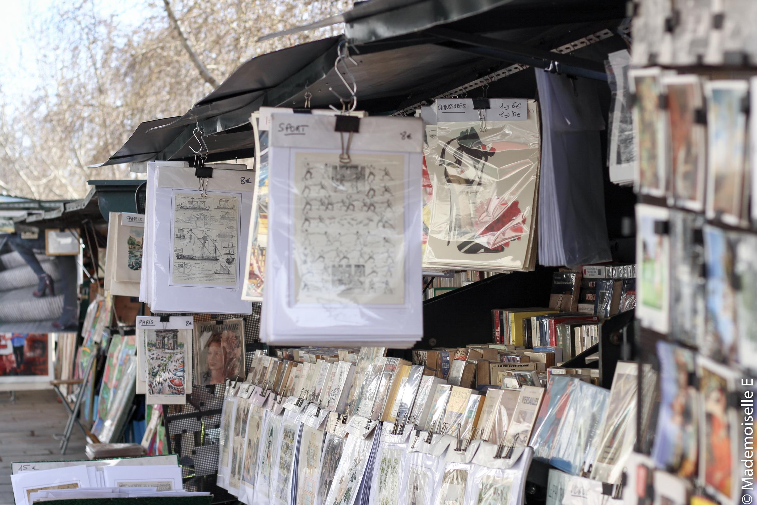 bonheurs #3 Paris libraires mademoiselle-e