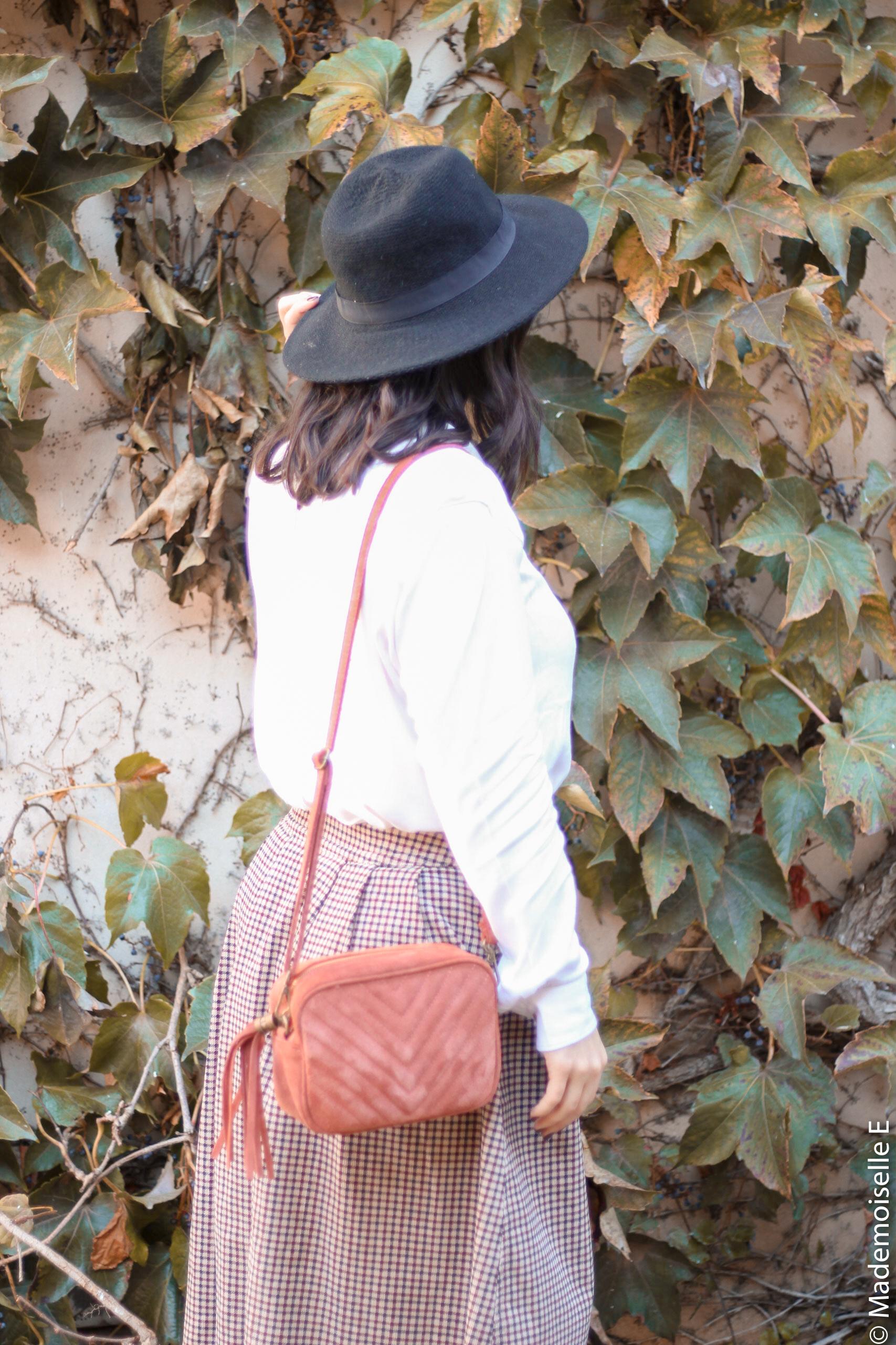 jupe midi Ines de la Fressange x uniqlo 11 mademoiselle-e