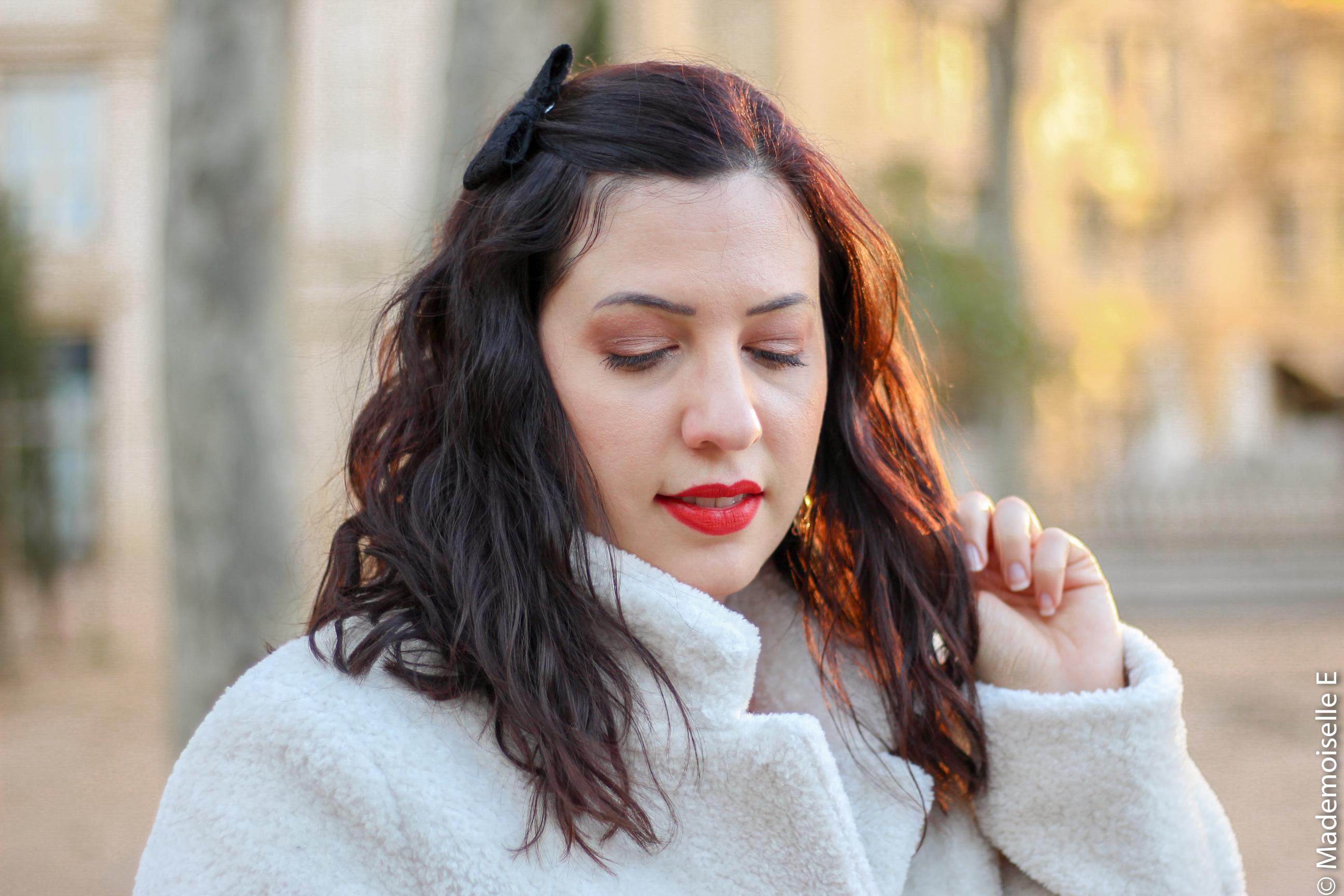 Robe rouge look de noel 9 mademoiselle-e
