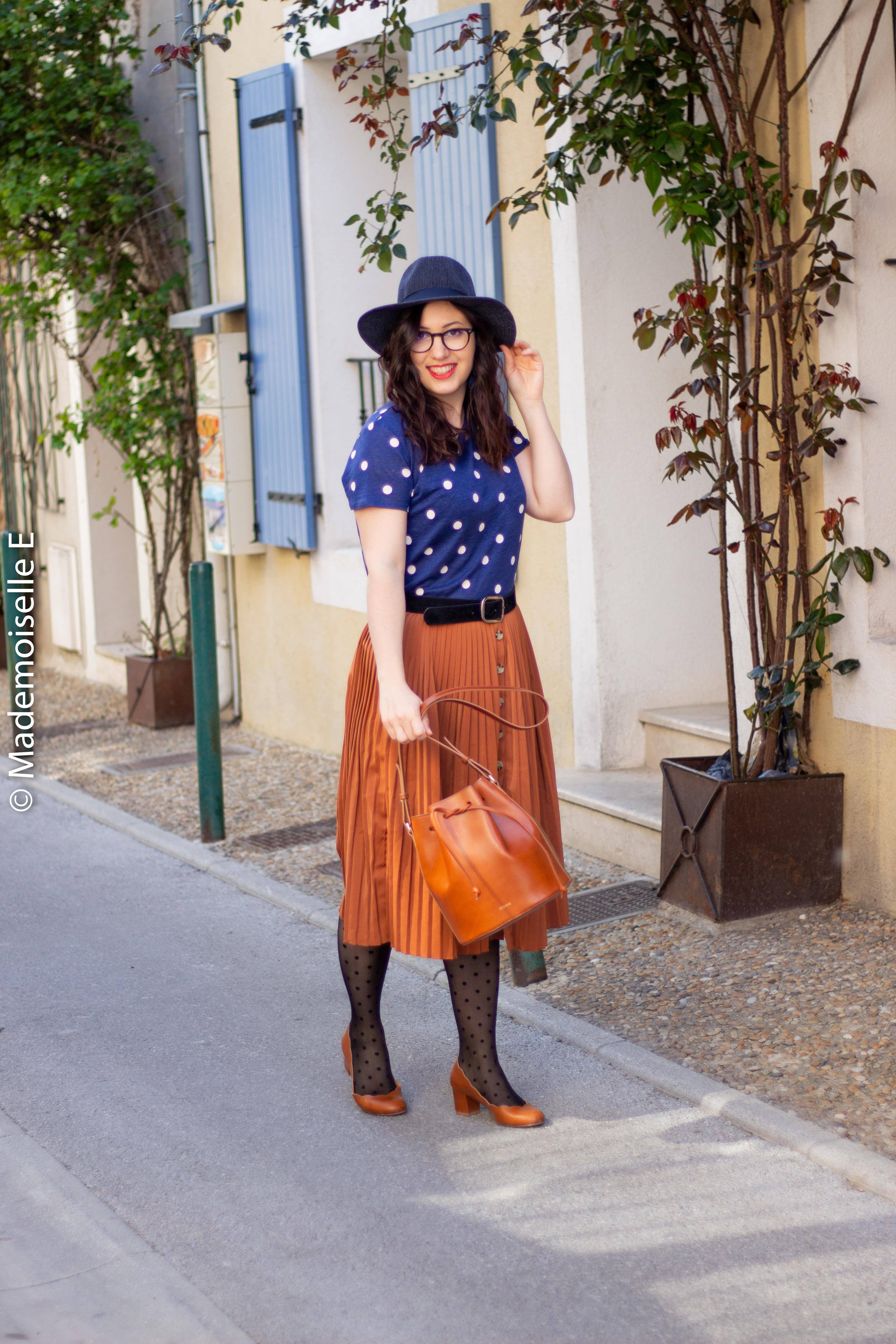 blog-mode-femme-jupe-midi-plissée-camel-6-mademoiselle-e