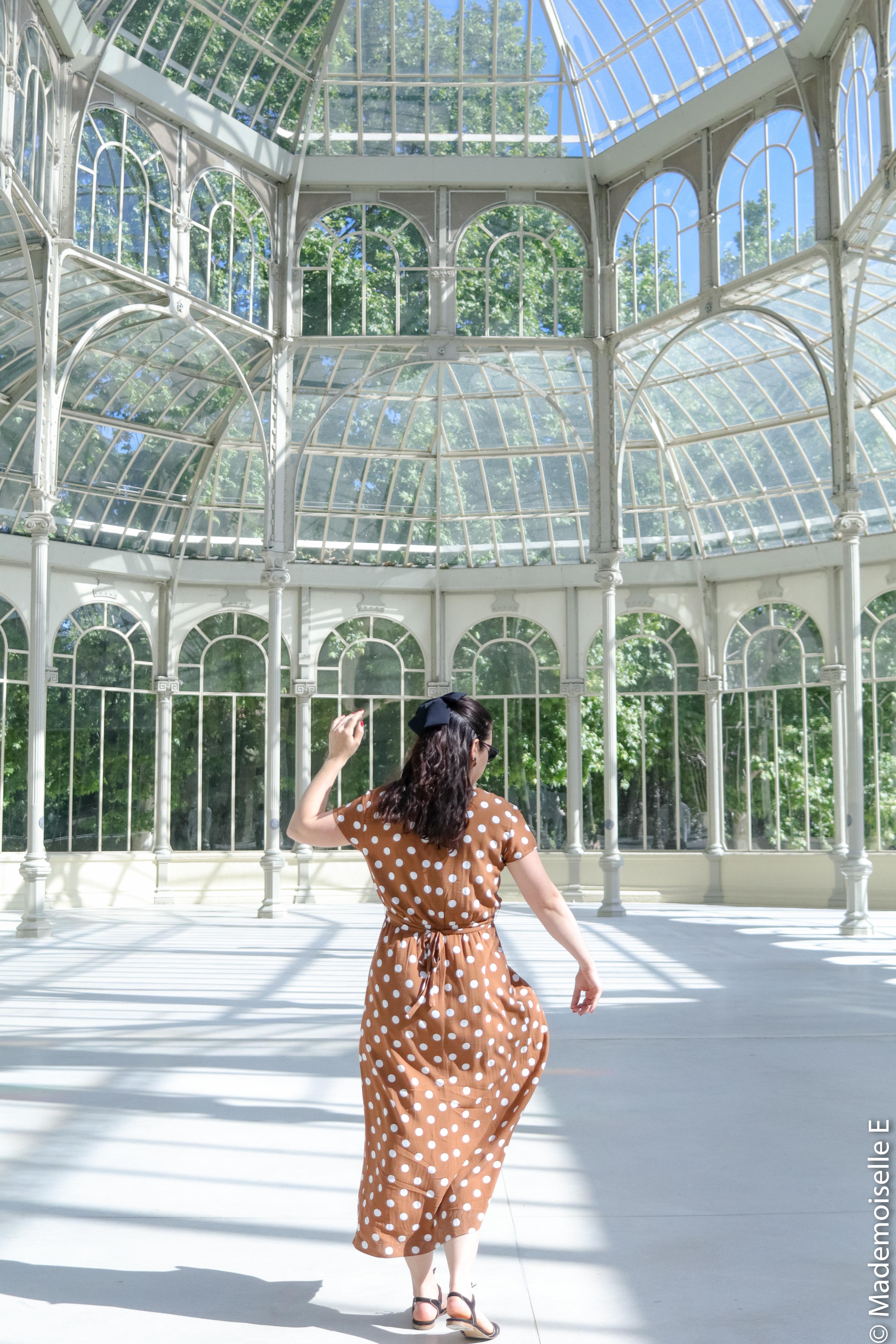 look-tendance-ete-robe-à-pois-marron-8-mademoiselle-e