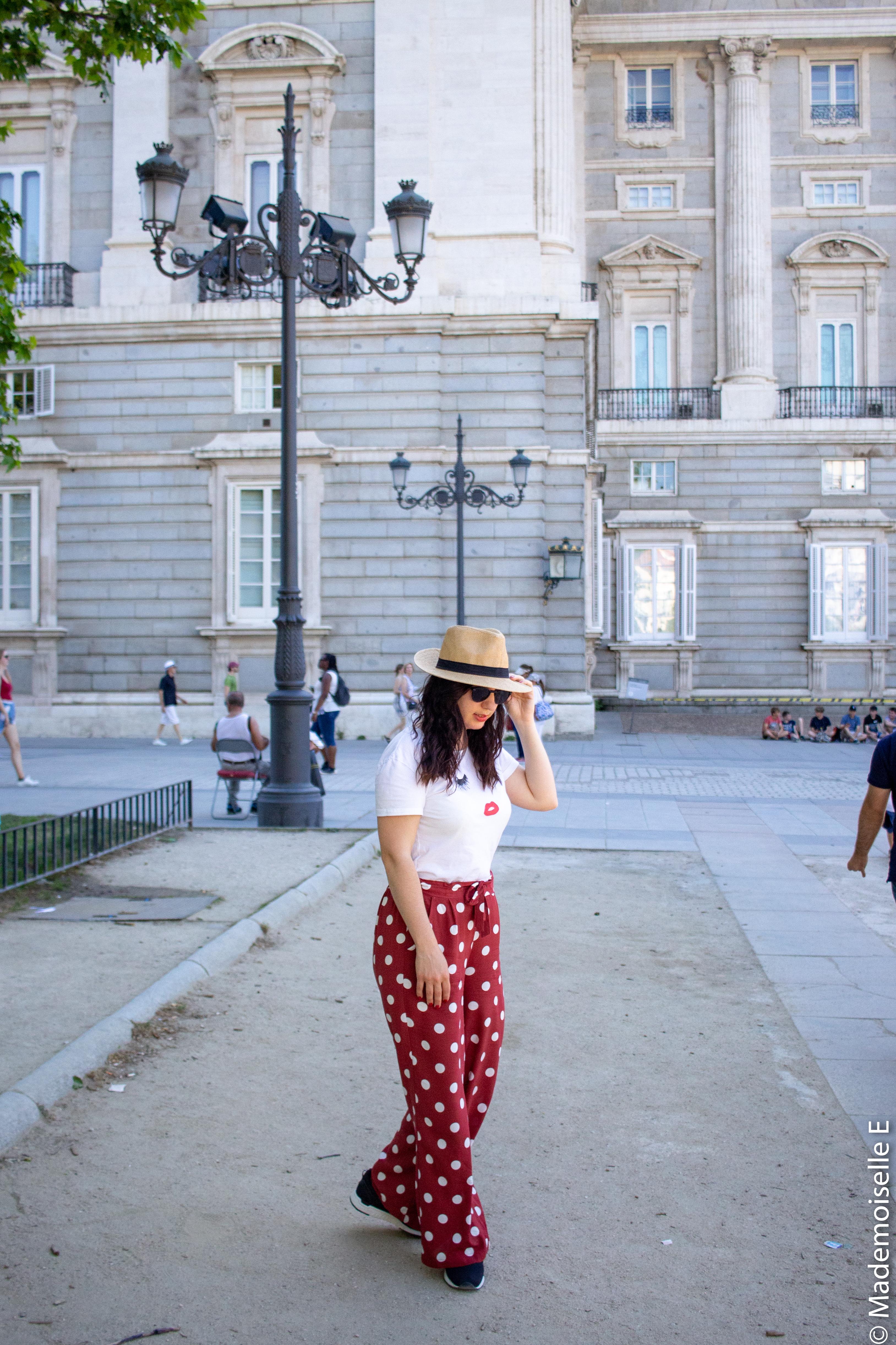 look-tendance-ete-pantalon-large-à-pois-4-mademoiselle-e