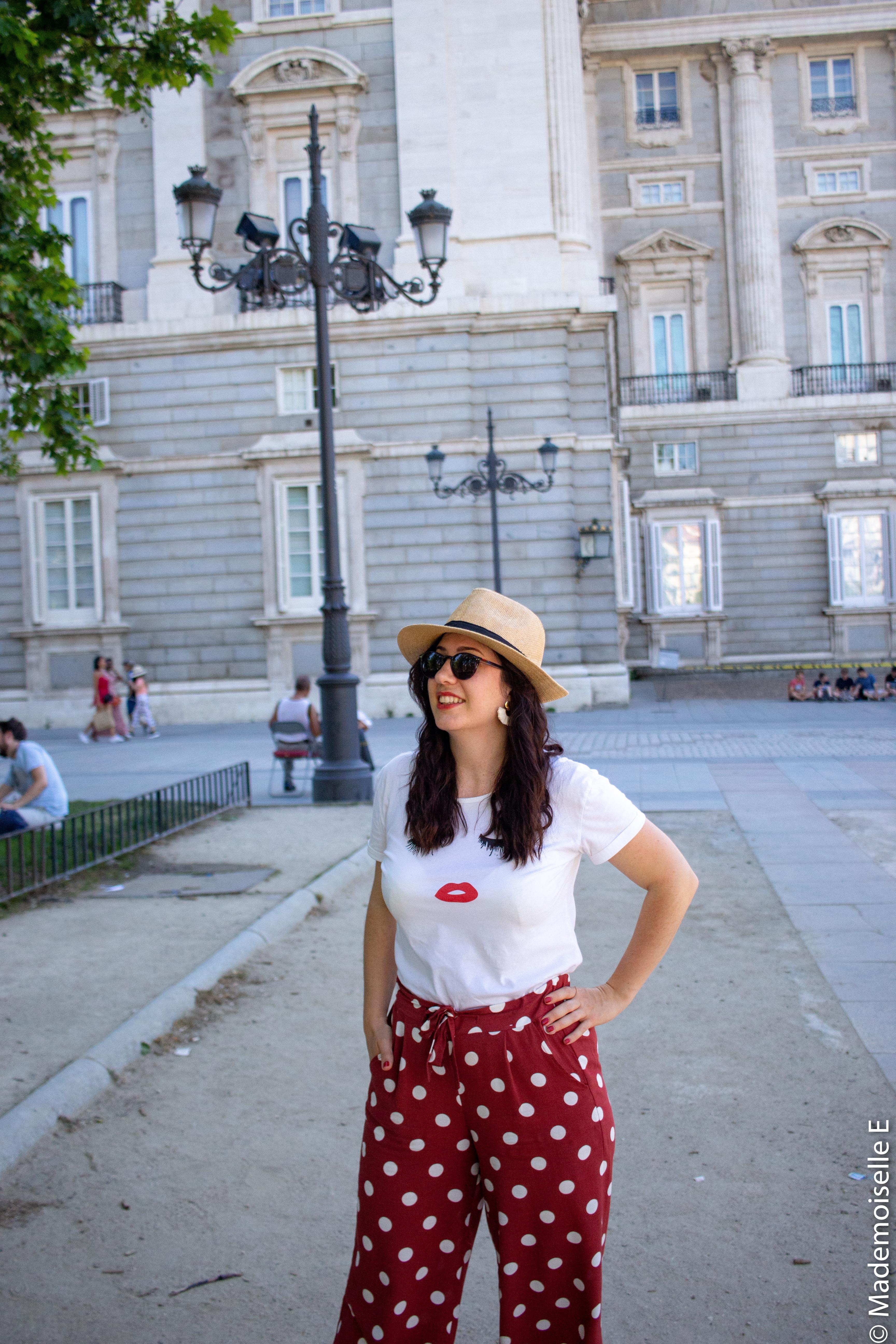 look-tendance-ete-pantalon-large-à-pois-3-mademoiselle-e